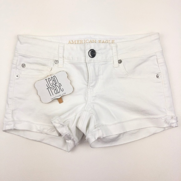 American Eagle Outfitters Pants - American Eagle Super Low Shortie Jean Shorts